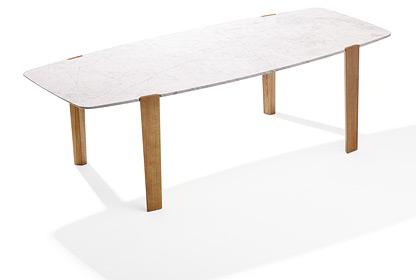 Étkezőasztalok / 1450 FRANCIS RECTANGULAR  - Stone