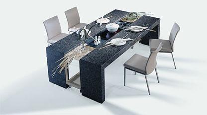 Étkezőasztalok / 7100 DINING DESK - Stone