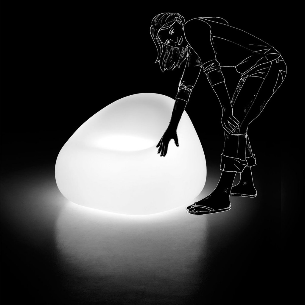 Fotelok / GUMBALL ARMCHAIR LIGHT