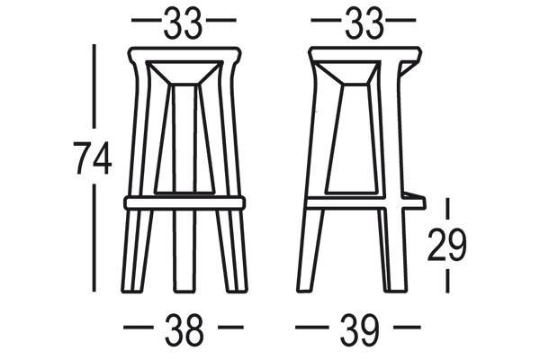 Bárszékek / FROZEN STOOL