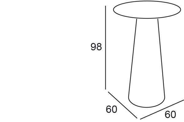 Bisztróasztalok és Bárasztalok / FURA TABLE