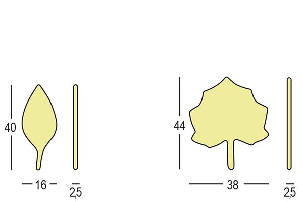 Egyéb Kiegészítők / MOON - LEAVES
