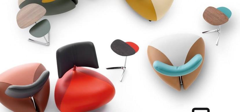 Leolux-pallone-design fotel