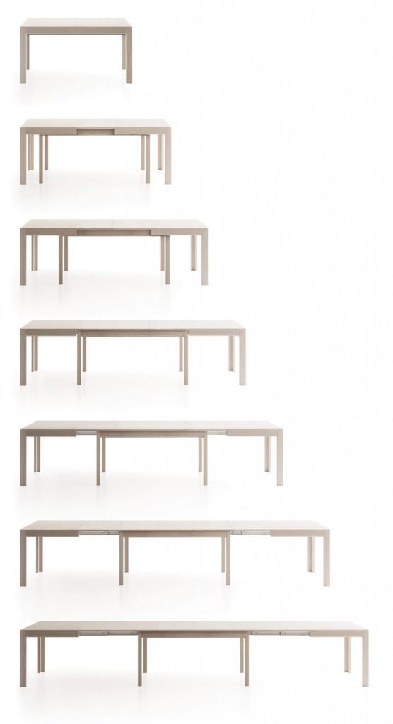 Étkezőasztalok / Convivio bővíthető étkezőasztal