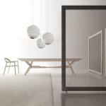 Étkezőasztalok / Cavalletto bővíthető étkezőasztal