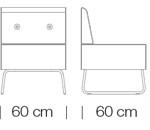 Moduláris ülőbútorok / abaco+ 812 - kanapé rendszer