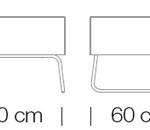 Moduláris ülőbútorok / abaco+ 815 - kanapé rendszer - puff
