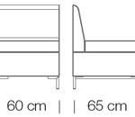 Moduláris ülőbútorok / abaco 750 - kanapé rendszer