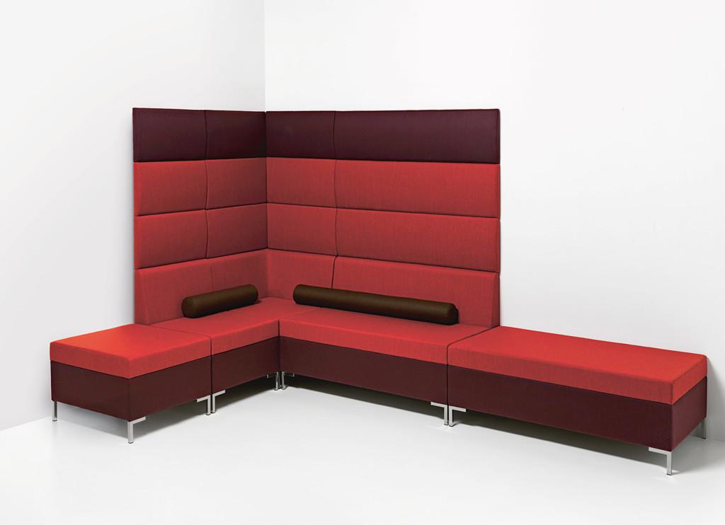 Moduláris ülőbútorok / abaco 757 - kanapé rendszer - fali panel