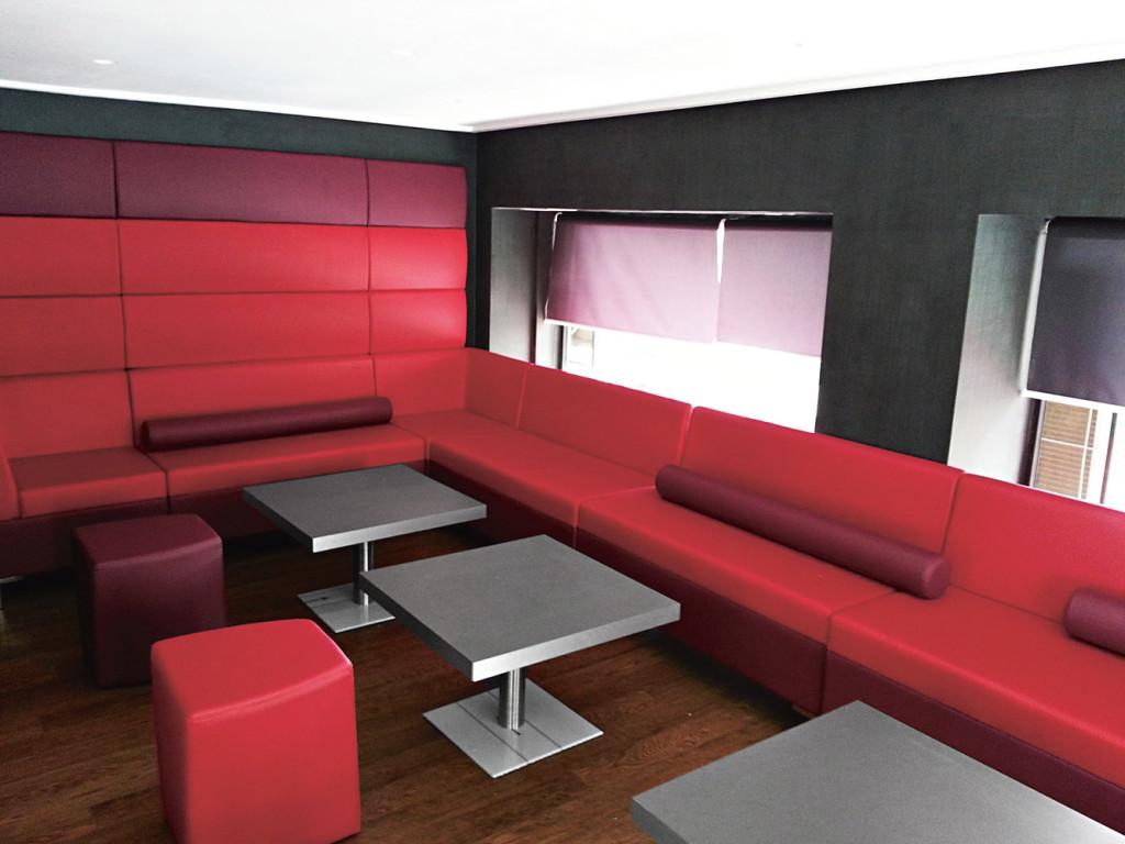 Moduláris ülőbútorok / abaco 756 - kanapé rendszer - fali panel