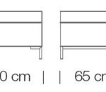 Moduláris ülőbútorok / abaco 753 - kanapé rendszer - puff