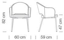 Étkezőszékek / Agatha 047 - étkezőszék