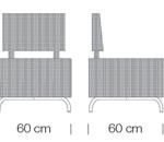 Kültéri Kanapék / dado 267 - kanapé rendszer