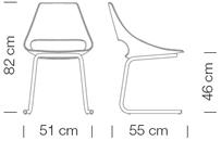 Étkezőszékek / Echo 156 - étkezőszék