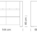 Moduláris ülőbútorok / giano+ 806 - kanapé