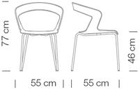 Étkezőszékek / Ibis 002 - étkezőszék