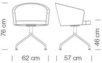 Étkezőszékek / Kicca 021 - étkezőszék