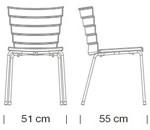 Étkezőszékek / Bikini 530 - étkezőszék