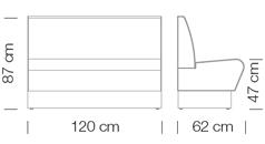 Kanapék / space 249 - kanapé rendszer