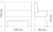 Kanapék / space 765 - kanapé rendszer
