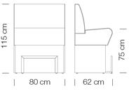 Kanapék / space 766 - kanapé rendszer