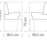 Kanapék / space 768 - kanapé rendszer