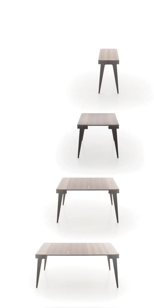 Étkezőasztalok / Crescendo bővíthető étkezőasztal