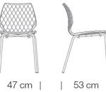 Étkezőszékek / Uni 550 - étkezőszék