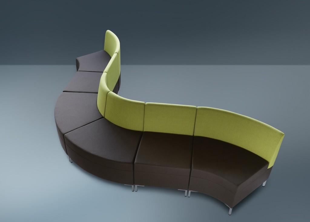 Moduláris ülőbútorok / abaco 760 - kanapé rendszer