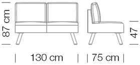 Kanapék / Nomad 821 kanapé