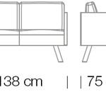 Kanapék / Nomad 822 kanapé