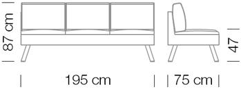 Kanapék / Nomad 823 kanapé