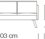 Kanapék / Nomad 824 kanapé