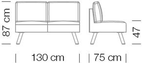 Kanapék / Nomad 825 kanapé