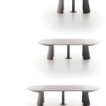 Étkezőasztalok / Rondò bővíthető étkezőasztal