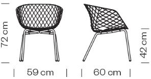 Étkezőszékek / Uni-Ka 604 - étkezőszék