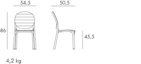 Erica 236 kültéri szék — Desidea