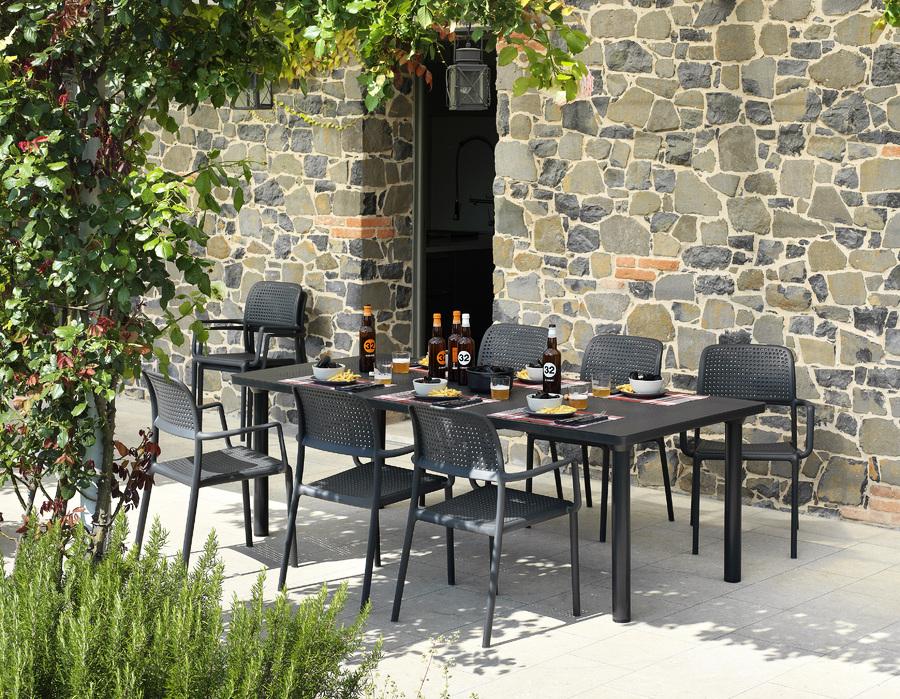Étkezőasztalok / Libeccio 475 - bővíthető kültéri asztal