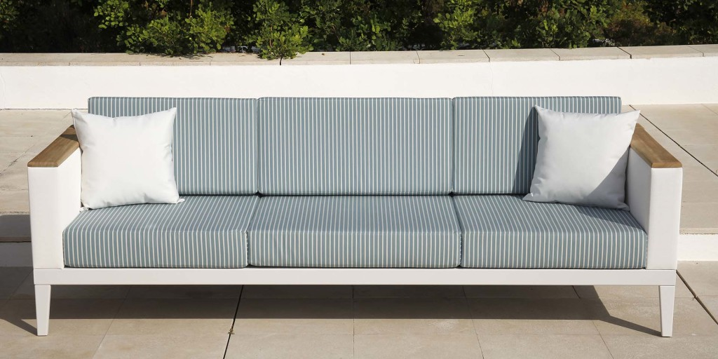 Kültéri Kanapék / AURA - háromszemélyes kültéri kanapé