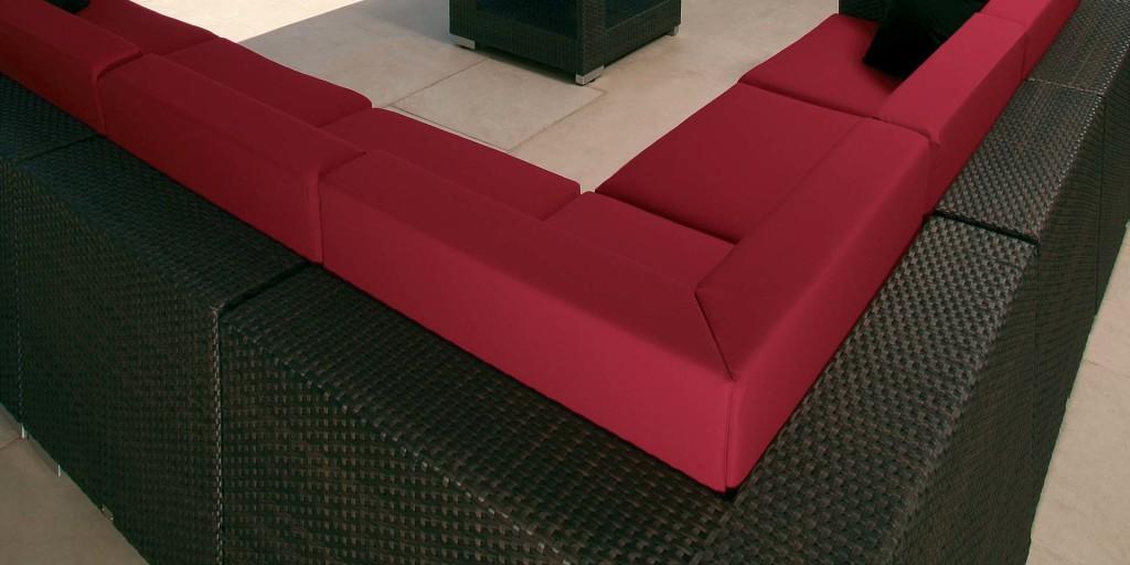 Kültéri Pihenőszékek, Fotelok / Arizona Corner - kültéri kanapé rendszer