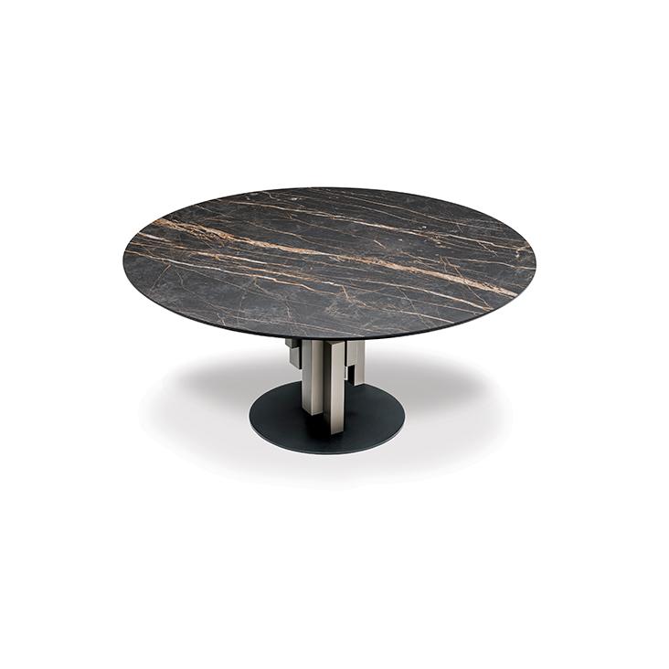 Étkezőasztalok / Skyline Round Keramik - étkezőasztal