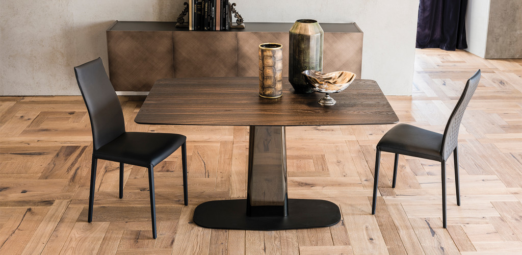 Étkezőasztalok / Linus Wood - étkezőasztal