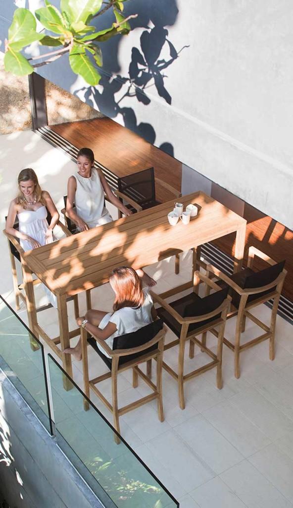 Bisztróasztalok és Bárasztalok / XQI 200 - kültéri bárasztal