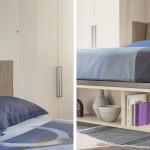 Ágyak / London Bridge - szekrényágy kanapéval