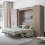 Ágyak / Piazza Duomo da parete - szekrényágy kanapéval