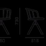 Étkezőszékek / NYM 2846 - étkezőszék