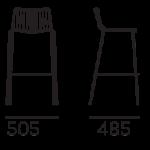 Bárszékek / NOLITA 3658 - bárszék