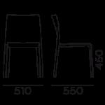 Étkezőszékek / Volt HB 673 - étkezőszék