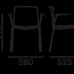 Étkezőszékek / TWEET 895 - étkezőszék