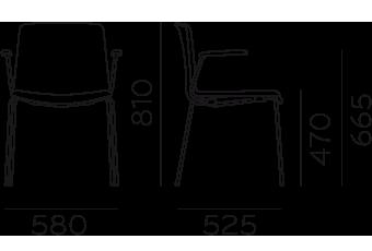 Étkezőszékek / TWEET 895_2 - étkezőszék